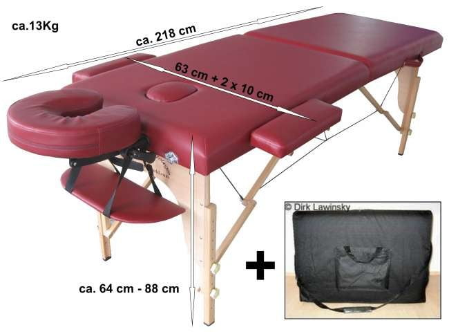 Coperta Termica Per Lettino Massaggio.Lettino Legno Portatile Aluhippo Agv Made In Italy