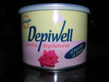 Cera Barattolo 400ml Titanio Depiwell