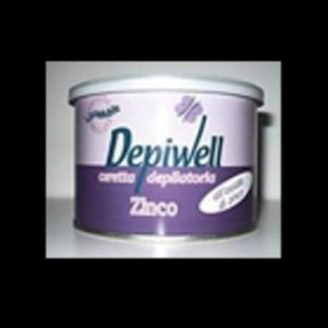 Cera Epilatoria Vaso Depiwell 400ml Zinco