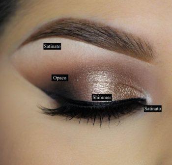 Molto Trucco per occhi marroni, crea il tuo Make Up - Accademia Nicotra CX28